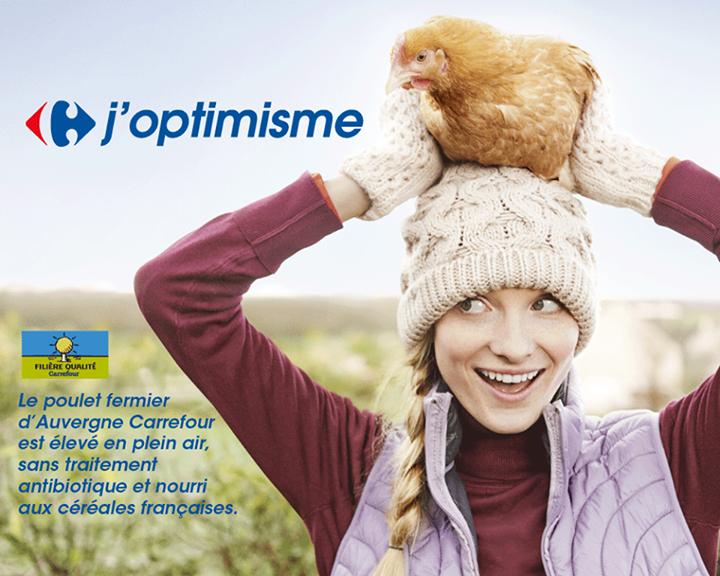 #J'optimisme - poulet